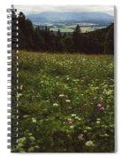 Cloudy Tatra Mountains Spiral Notebook