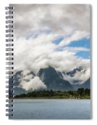 Cloudy With A Chance Of Beautiful Photo Spiral Notebook