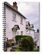 Clovelly Street View Spiral Notebook