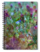 Clover Field Impressions Spiral Notebook