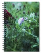 Clover Field Remix Spiral Notebook