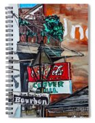 Clover Grill - New Orleans Spiral Notebook