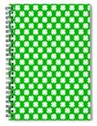 Clover Titled  - Pattern Spiral Notebook