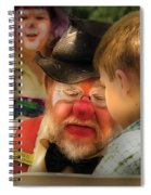 Clown - Face Painting Spiral Notebook