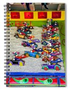 Clown Car Racing Game Spiral Notebook