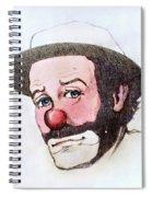 Clown Emmett Kelly Spiral Notebook