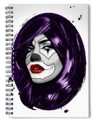 Clown Girl Spiral Notebook
