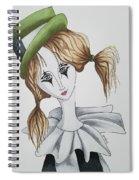 Green Hat Clown Spiral Notebook