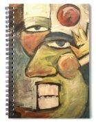 Clown Painting Spiral Notebook