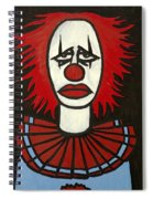 Clown Spiral Notebook