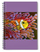 Clownfish I  Spiral Notebook