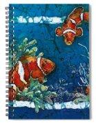 Clowning Around - Clownfish Spiral Notebook