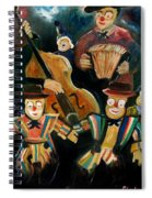 Clowns Spiral Notebook