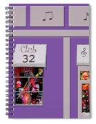 Club 32 Spiral Notebook
