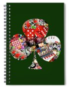 Club Playing Card Shape  Spiral Notebook