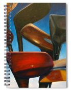 Clubs Rising Spiral Notebook