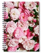 Cluster Of Roses  Spiral Notebook