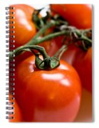 Cluster Of Tomatoes Spiral Notebook