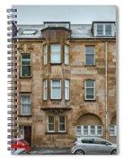 Clydebank Former Fire Station Building Spiral Notebook