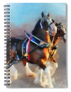Clydesdales Spiral Notebook