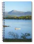 Co Mayo, Ireland Fishing Boat In Clew Spiral Notebook
