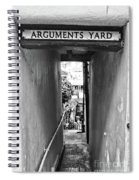 Coast - Arguments Yard, Whitby, England Spiral Notebook