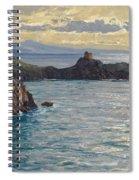 Coast At Amalfi Spiral Notebook