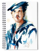 The Uss Red White And Blue Coast Guard 1923 Spiral Notebook