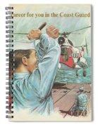 Coast Guard Career Spiral Notebook