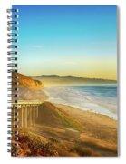Coast Highway Del Mar Spiral Notebook