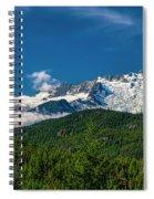 Coast Mountains Spiral Notebook