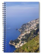 Coast Of Amalfi Spiral Notebook