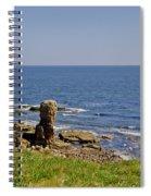 Coast. Seascape 3. Spiral Notebook