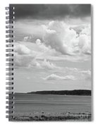 Coast - The Lonely Boat Spiral Notebook