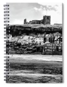 Coast - Whitby Abbey And Church Spiral Notebook