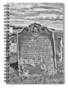 Coast - Whitby Freemason Grave Spiral Notebook