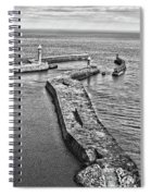 Coast - Whitby Harbour Spiral Notebook