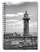 Coast - Whitby Lighthouse Spiral Notebook