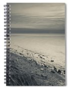 Coast With A Lighthouse Spiral Notebook