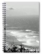 Coastal Bandw Spiral Notebook