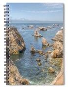 Coastal California Spiral Notebook