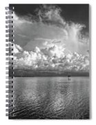 Coastal Clouds 2 Spiral Notebook