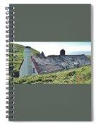 Coastal Cottage Nestled In Sunshine Spiral Notebook