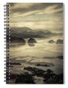 Coastal Dawn Spiral Notebook