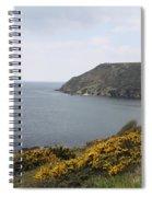 Coastal Path Cornwall Spiral Notebook