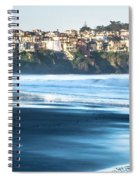 Coastal Scenes At Usa Pacific Coast Spiral Notebook