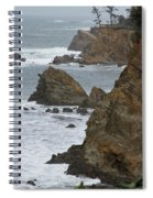 Coastal Storm Spiral Notebook