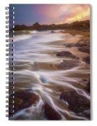 Coastal Whispers Spiral Notebook