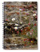 Coastal Wildflowers 1 Spiral Notebook