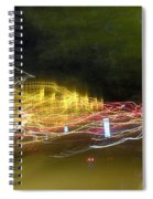 Coaster Of Lights Spiral Notebook